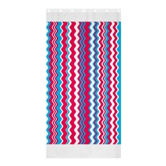 Waves pattern Shower Curtain 36  x 72  (Stall)