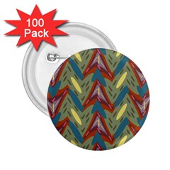 Shapes Pattern 2 25  Button (100 Pack)