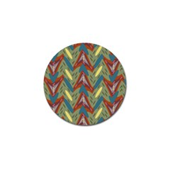 Shapes Pattern Golf Ball Marker (4 Pack)