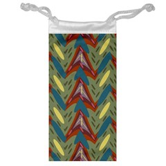 Shapes pattern Jewelry Bag