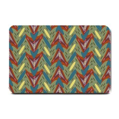 Shapes pattern Small Doormat