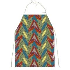 Shapes pattern Full Print Apron