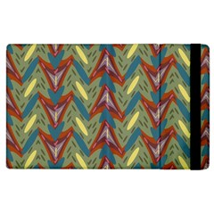 Shapes Pattern Apple Ipad 2 Flip Case