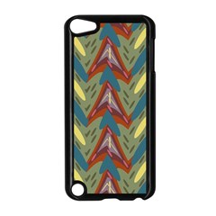 Shapes pattern Apple iPod Touch 5 Case (Black)