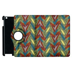 Shapes pattern Apple iPad 3/4 Flip 360 Case