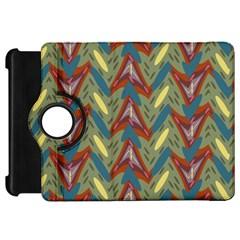 Shapes pattern Kindle Fire HD Flip 360 Case