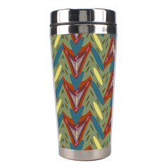 Shapes pattern Stainless Steel Travel Tumbler