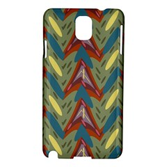 Shapes pattern Samsung Galaxy Note 3 N9005 Hardshell Case