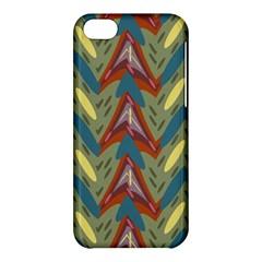 Shapes Pattern Apple Iphone 5c Hardshell Case