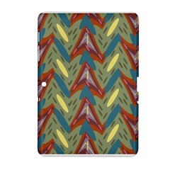 Shapes pattern Samsung Galaxy Tab 2 (10.1 ) P5100 Hardshell Case