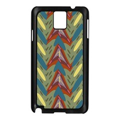 Shapes pattern Samsung Galaxy Note 3 N9005 Case (Black)
