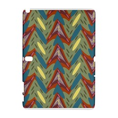 Shapes Pattern Samsung Galaxy Note 10 1 (p600) Hardshell Case
