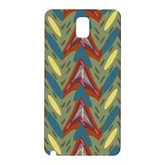 Shapes pattern Samsung Galaxy Note 3 N9005 Hardshell Back Case