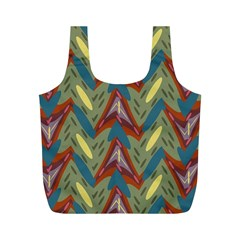 Shapes Pattern Full Print Recycle Bag (m)