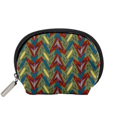 Shapes pattern Accessory Pouch (Small)