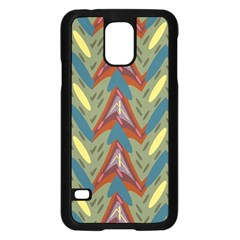 Shapes pattern Samsung Galaxy S5 Case (Black)