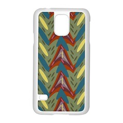 Shapes pattern Samsung Galaxy S5 Case (White)
