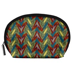 Shapes pattern Accessory Pouch (Large)