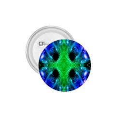 Alien Snowflake 1.75  Button