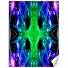 Alien Snowflake Canvas 12  X 16  (unframed)