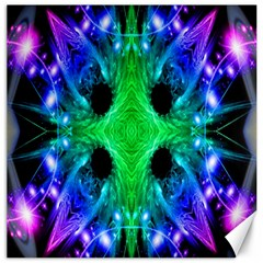 Alien Snowflake Canvas 16  x 16  (Unframed)