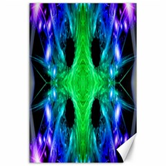 Alien Snowflake Canvas 24  x 36  (Unframed)