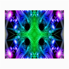 Alien Snowflake Glasses Cloth (Small, Two Sided)