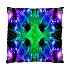 Alien Snowflake Cushion Case (two Sided)