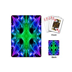 Alien Snowflake Playing Cards (mini)