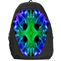 Alien Snowflake Backpack Bag