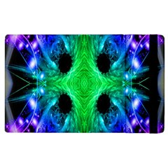 Alien Snowflake Apple Ipad 3/4 Flip Case