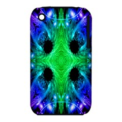 Alien Snowflake Apple iPhone 3G/3GS Hardshell Case (PC+Silicone)