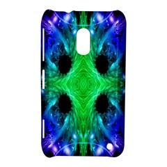 Alien Snowflake Nokia Lumia 620 Hardshell Case