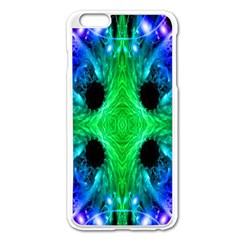 Alien Snowflake Apple Iphone 6 Plus Enamel White Case