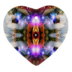 Connection Heart Ornament (two Sides)