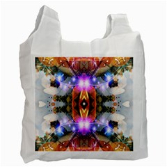 Connection White Reusable Bag (one Side)