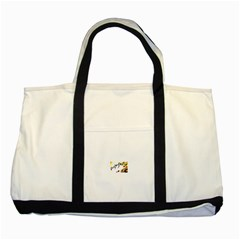 Royal Flush Two Toned Tote Bag