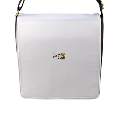 Royal Flush Flap Closure Messenger Bag (Large)