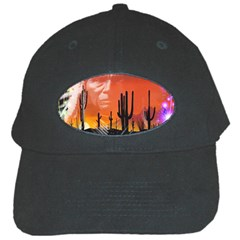 Ghost Dance Black Baseball Cap