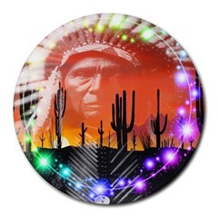 Ghost Dance 8  Mouse Pad (round)