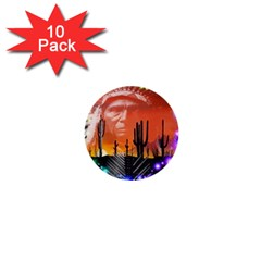 Ghost Dance 1  Mini Button (10 pack)