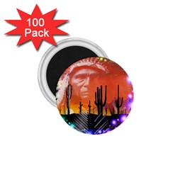 Ghost Dance 1.75  Button Magnet (100 pack)