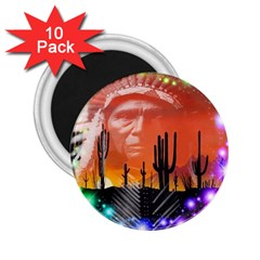 Ghost Dance 2 25  Button Magnet (10 Pack)