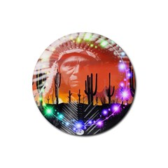 Ghost Dance Drink Coasters 4 Pack (round)