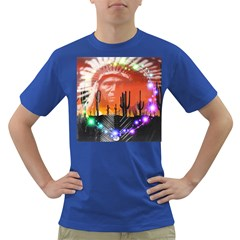 Ghost Dance Men s T Shirt (colored)