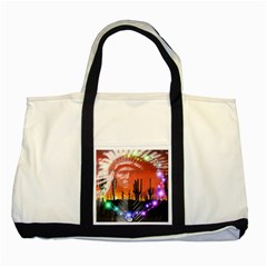 Ghost Dance Two Toned Tote Bag