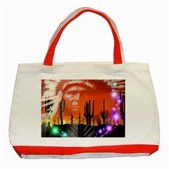Ghost Dance Classic Tote Bag (red)