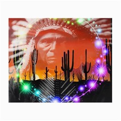 Ghost Dance Glasses Cloth (Small, Two Sided)