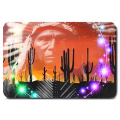 Ghost Dance Large Door Mat