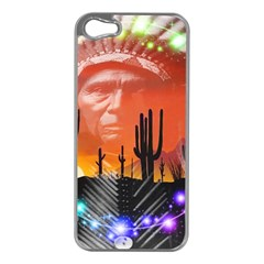 Ghost Dance Apple Iphone 5 Case (silver)